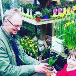 helpful garden centre staff